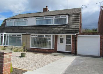 Thumbnail 3 bed semi-detached house to rent in Farne Avenue, Gosforth, Newcastle Upon Tyne