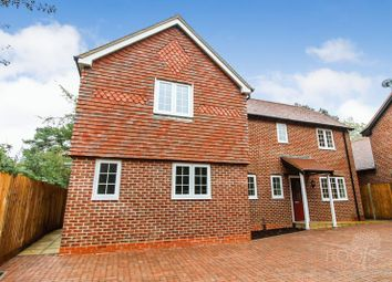 Thumbnail 2 bed semi-detached house for sale in Newbury Road, Headley, Thatcham