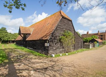 Thumbnail Barn conversion for sale in Hardwick Lane, Lyne, Chertsey