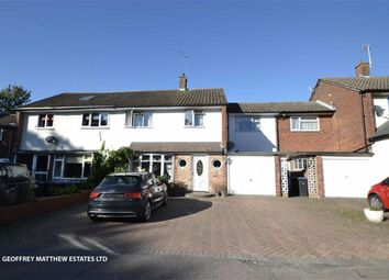 Thumbnail 4 bed semi-detached house for sale in Chapelfield, Harlow, Essex