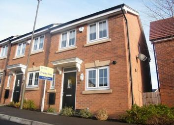 Thumbnail 2 bed end terrace house for sale in Horse Chestnut Close, Chesterfield, Derbyshire