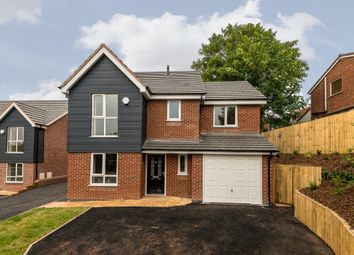 Thumbnail 4 bed detached house for sale in Bower Lane, Rugeley