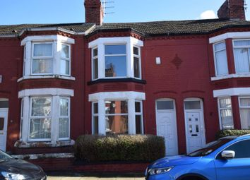 Thumbnail 2 bed terraced house for sale in Rosedale Road, Tranmere, Birkenhead