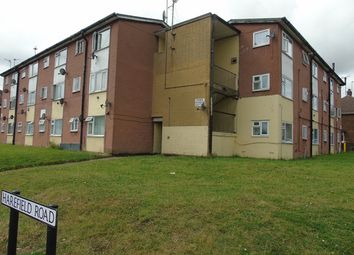 Thumbnail 1 bed flat to rent in Harefield Road, Luton