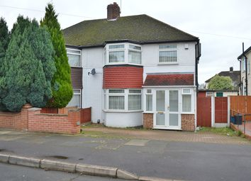 Thumbnail 3 bed semi-detached house for sale in Cheriton Avenue, London