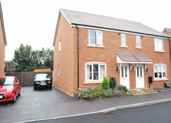 Longstone Avenue, Longford, Gloucester GL2. 3 bed semi-detached house
