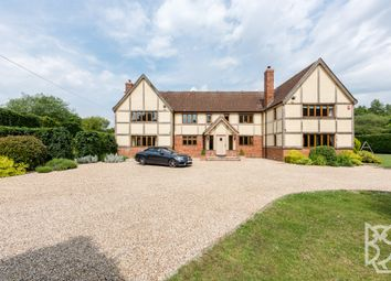Thumbnail 6 bedroom detached house for sale in Lamarsh Road, Alphamstone, Sudbury, Suffolk