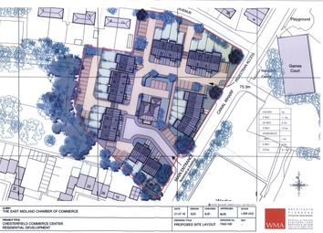 Thumbnail Land for sale in Former East Midlands Chamber Site, Canal Wharf, Chesterfield