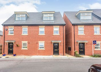 Thumbnail 3 bed town house for sale in Stoborough Crescent, Featherstone, Pontefract