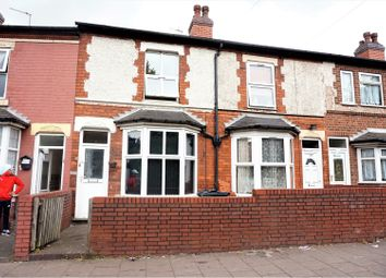 Thumbnail 2 bed terraced house for sale in Cherrywood Road, Birmingham