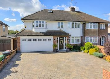 Thumbnail 4 bedroom semi-detached house for sale in Bullens Green Lane, Colney Heath, St. Albans