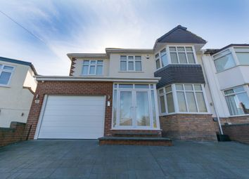 Thumbnail 5 bed semi-detached house for sale in Lynton Green, Woolton, Liverpool