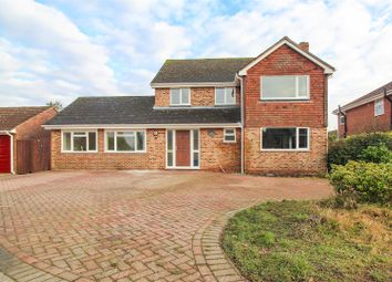 Thumbnail 5 bed detached house for sale in Badgers Close, Blean, Canterbury