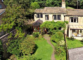 Thumbnail 3 bed end terrace house for sale in Royles Head Lane, Longwood, Huddersfield