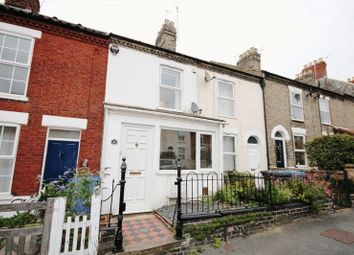 Thumbnail 2 bedroom terraced house for sale in Knowsley Road, Norwich