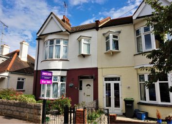 Thumbnail 3 bed end terrace house for sale in Leigh Hall Road, Leigh-On-Sea