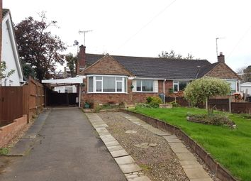 Thumbnail 2 bed semi-detached bungalow for sale in Tennyson Avenue, Rugby