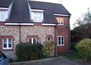 Thumbnail 2 bedroom end terrace house to rent in Orchard Way, Badwell Ash, Bury St. Edmunds