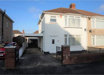 Thumbnail 3 bed semi-detached house for sale in Greylands Road, Uplands