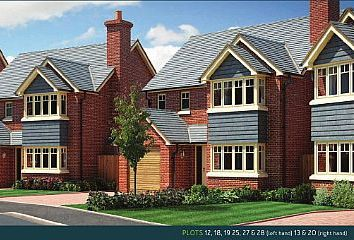 Thumbnail 4 bed detached house for sale in Plot 20 - The Eyton, (Right Hand) Perry View, Prescott, Baschurch, Shropshire
