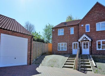 Thumbnail 3 bed town house for sale in Oak Tree Meadow, Horncastle