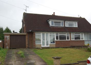 Thumbnail 3 bed semi-detached bungalow to rent in Wadhurst Avenue, Luton
