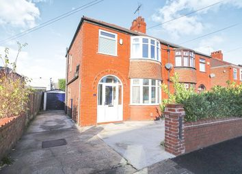 Thumbnail 3 bed semi-detached house for sale in Bonis Crescent, Great Moor, Stockport