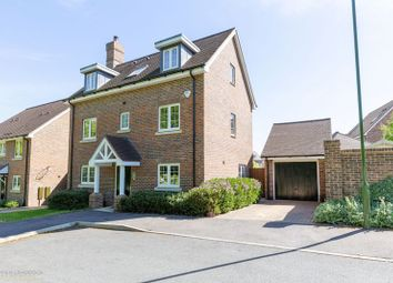 Thumbnail 4 bed detached house for sale in Hoathly Road, East Grinstead, West Sussex