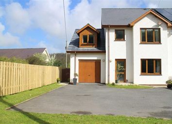 Thumbnail 5 bed semi-detached house for sale in Llanilar, Aberystwyth