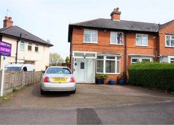Thumbnail 2 bed end terrace house for sale in St. Heliers Road, Birmingham