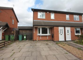 Thumbnail 3 bed semi-detached house for sale in Knights Close, Stoney Stanton, Leicester
