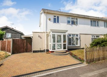Thumbnail 3 bed semi-detached house for sale in Cherston Gardens, Loughton