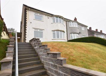 Thumbnail 3 bedroom semi-detached house for sale in Heol Gwyrosydd, Penlan, Swansea