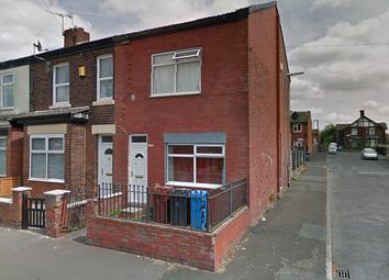 Thumbnail 2 bed end terrace house for sale in Gill Street, Manchester