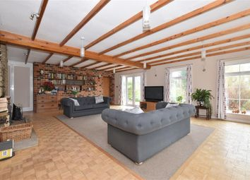 Thumbnail 6 bed detached house for sale in Woodmancote Lane, Woodmancote, Emsworth, Hampshire