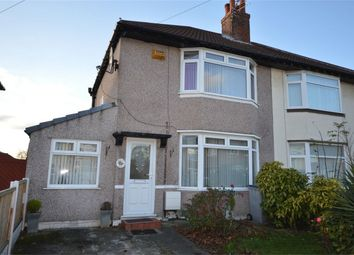 Thumbnail 3 bed semi-detached house for sale in Glenburn Avenue, Eastham, Merseyside