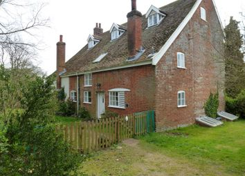 Thumbnail 2 bedroom semi-detached house to rent in Church Farm House, Mill Road, Waldringfield
