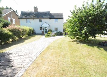 Thumbnail 3 bed cottage for sale in Heath Road, Orsett Heath, Essex