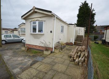 Thumbnail 2 bed mobile/park home for sale in Chestnut Close, Littlethorpe, Leicester