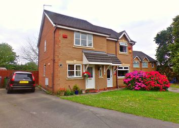 Thumbnail 2 bed semi-detached house for sale in Heatley Close, Prenton