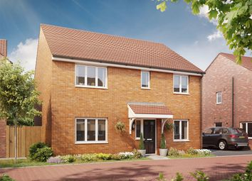"Thumbnail 4 bed detached house for sale in ""The Marlborough "" at Bellona Drive, Peterborough"