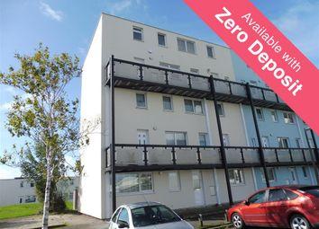 Thumbnail 2 bedroom maisonette to rent in Cornwell Close, Gosport