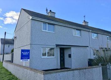 Thumbnail 3 bedroom end terrace house for sale in Bryn Glas Road, Holyhead, Sir Ynys Mon