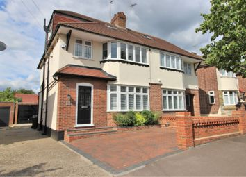 Thumbnail 4 bed semi-detached house for sale in Hawkwood Crescent, Chingford