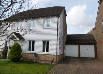 Thumbnail 2 bed semi-detached house for sale in The Bulrushes, Singleton, Ashford
