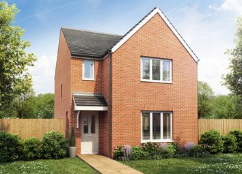 "Thumbnail 3 bed detached house for sale in ""The Hatfield"" at Haggerston Road, Blyth"