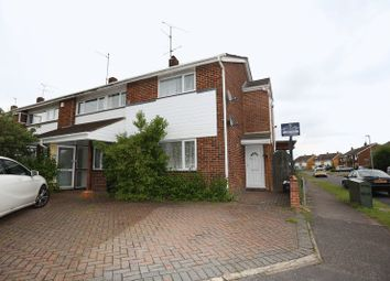 Thumbnail 2 bedroom end terrace house for sale in Austin Road, Woodley, Reading