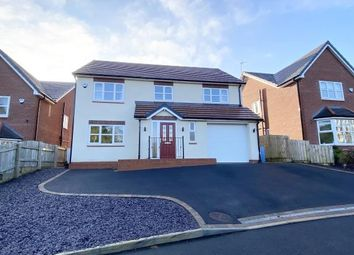 Thumbnail 4 bed detached house for sale in Cwrt Cranfield, New Brighton, Mold, Flintshire