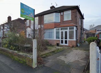 Thumbnail 3 bed semi-detached house for sale in Somers Road, Stockport