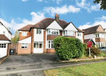 Thumbnail 4 bed semi-detached house for sale in Etwall Road, Hall Green, Birmingham